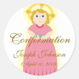 Confirmation Sticker-Customize