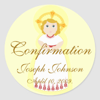 Confirmation Sticker-Customize