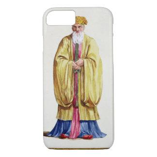 Confucius (551-479 BC), from 'Receuil des Estampes iPhone 7 Case