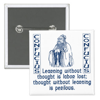 Confucius Buttons