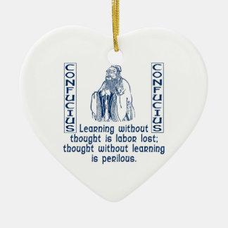 Confucius Ornament
