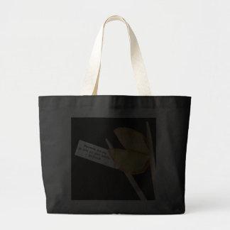 Confucius fortune cookie bag