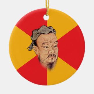 Confucius Say Christmas Tree Ornament