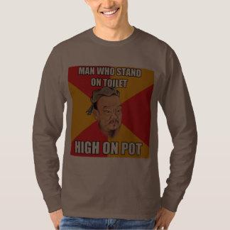 Confucius Say High On Pot Tee Shirt