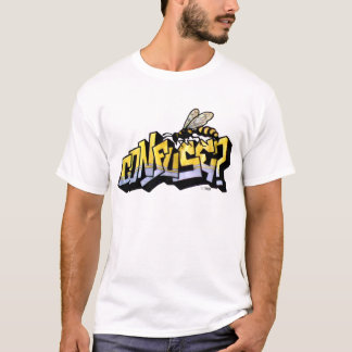 Confuse killer bees graffiti T-Shirt