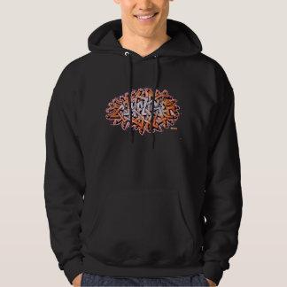 Confuse wildstyle graffiti hoodie