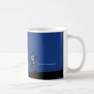 Confused Alien - Coffee Mug