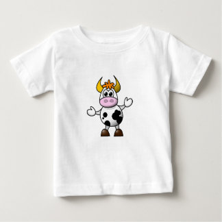 Confused Cow Baby Top