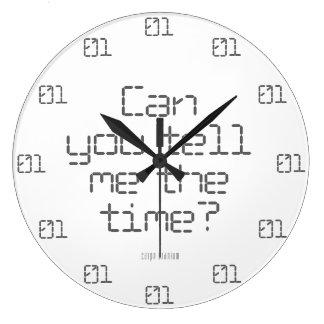 Confused Digital Wall Clock