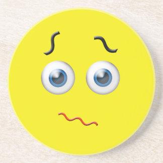Confused  Emoji Coaster