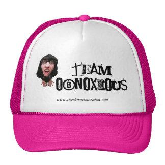 Confused, TEAM OBNOXIOUS, www.theobnoxioussahm.com Cap