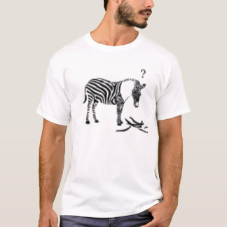 Confused Zebra T-Shirt