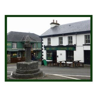Cong (Quiet Man) Village Square Postcard