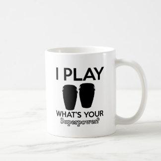 conga design coffee mug