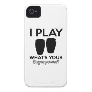 conga design iPhone 4 case
