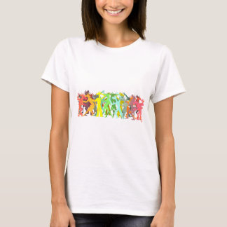 Conga Line Unicorns T-Shirt