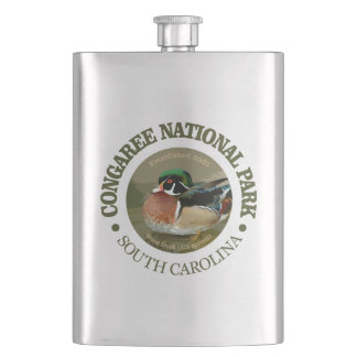 Congaree National Park (Wood Duck) Hip Flask