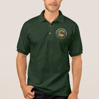 Congaree National Park (Wood Duck) Polo Shirt