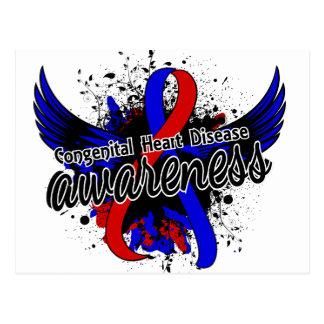 Congenital Heart Disease Awareness 16 Postcard