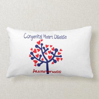 Congenital Heart Disease Awareness Throw Cushions