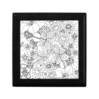 Conglomeration of Flowers Gift Box