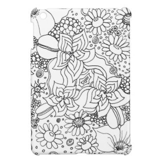 Conglomeration of Flowers iPad Mini Covers