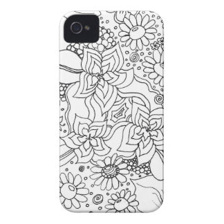 Conglomeration of Flowers iPhone 4 Case-Mate Case