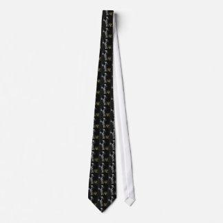 Congo African Grey Hanukkah Tie