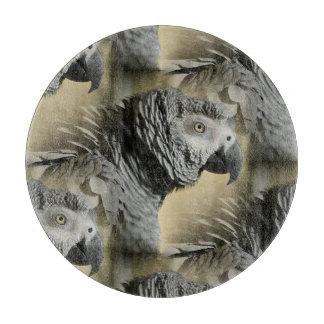 Congo African Grey Parrot Cutting Board