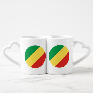 Congo-Brazzaville Flag Coffee Mug Set