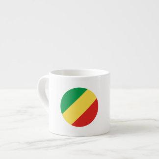 Congo-Brazzaville Flag Espresso Cup