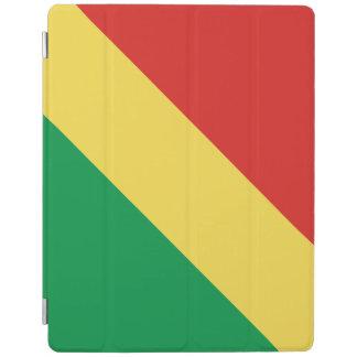 Congo-Brazzaville Flag iPad Cover