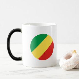 Congo-Brazzaville Flag Magic Mug