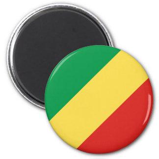 Congo-Brazzaville Flag Magnet