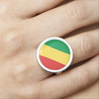 Congo-Brazzaville Flag Ring