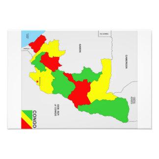 congo country political map flag photograph