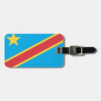 Congo (Democratic Republic) Luggage Tags