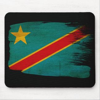 Congo Flag Mouse Pad