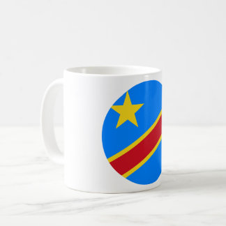 Congo-Kinshasa Flag Coffee Mug