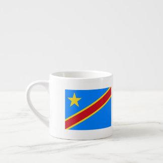 Congo-Kinshasa Flag Espresso Cup