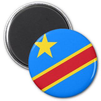 Congo-Kinshasa Flag Magnet