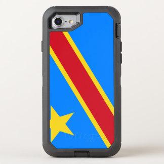 Congo-Kinshasa Flag OtterBox Defender iPhone 8/7 Case