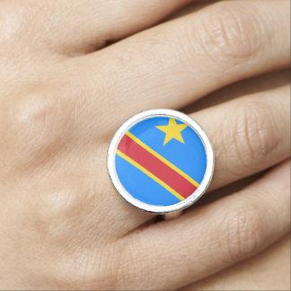 Congo-Kinshasa Flag Ring