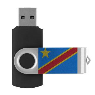 Congo-Kinshasa Flag USB Flash Drive