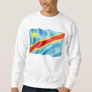 Congo Kinshasa Waving Sweatshirt