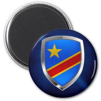 Congo Mettalic Emblem Magnet