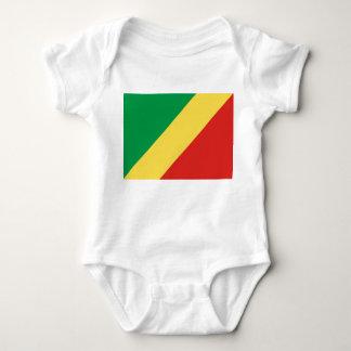 Congo National World Flag Baby Bodysuit