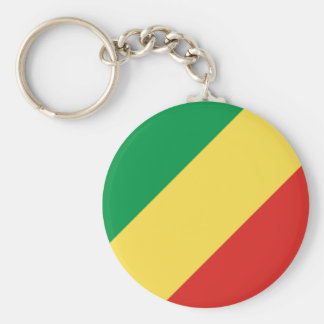 Congo National World Flag Key Ring