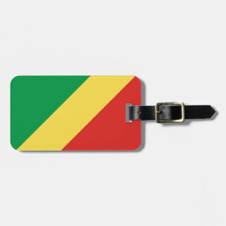 Congo National World Flag Luggage Tag
