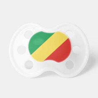Congo National World Flag Pacifier